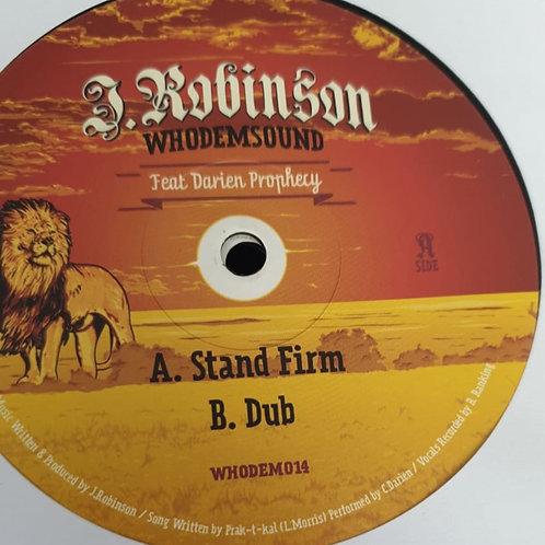 STAND FIRM J ROBINSON FEAT DARIEN PROPHECY