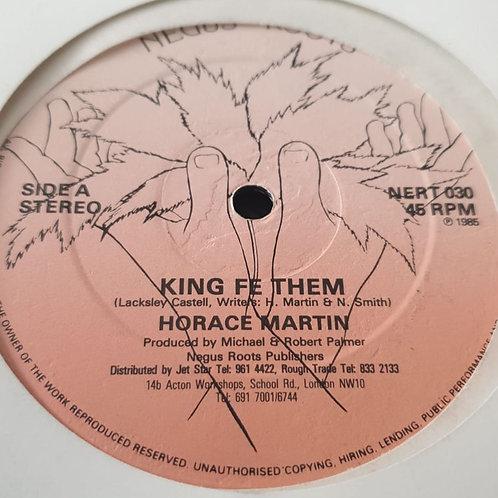 "KING FE THEM HORACE MARTIN ORIGINAL 12"""