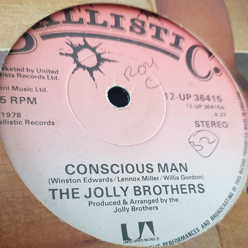CONSCIOUS MAN THE JOLLY BROTHERS