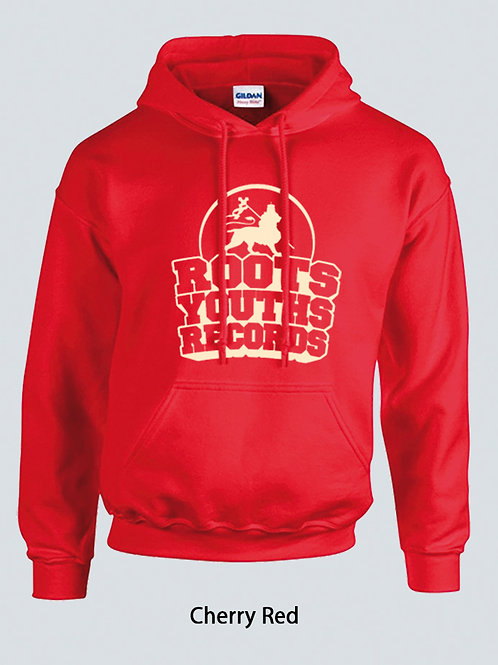 CHERRY RED ROOTS YOUTHS RECORDS HOODY
