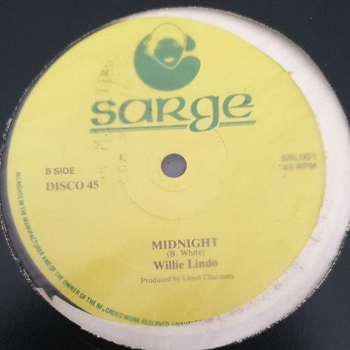 MIDNIGHT WILLIE LINDO / I AM STILL WAITING DELROY WILSON