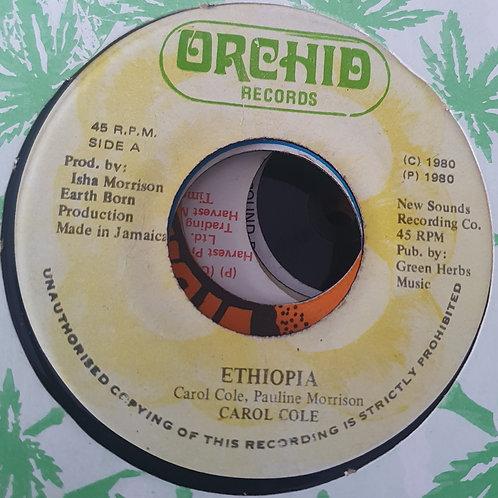ETHIOPIA CAROL COLE ORCHID RECORDS