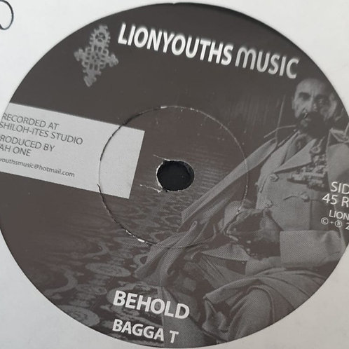 BEHOLD BAGGA T LION YOUTHS MUSIC
