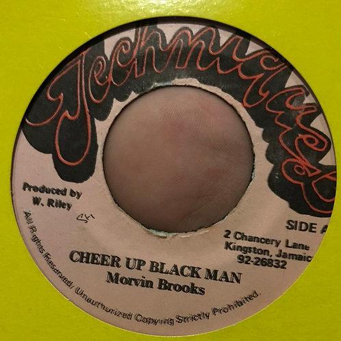 CHEER UP BLACK MAN MORVIN BROOKS