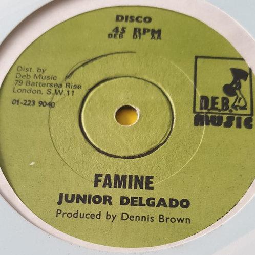 """FAMINE JUNIOR DELGADO ORIG 12"""" D.E.B"""