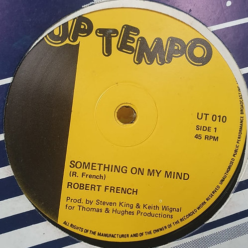 SOMETHING ON MY MIND ROBERT FRENCH MINT COPY