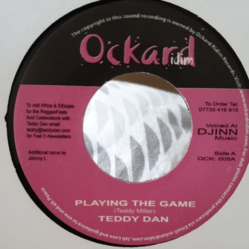 PLAYING THE GAME TEDDY DAN