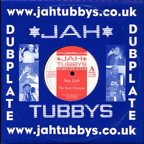 "STAR DUB / WATERS EDGE THE BUSH CHEMISTS JAH TUBBY 10"""