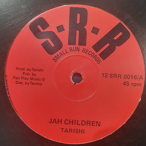 JAH CHILDREN TARISHI SMALL RUN RECORDS TAMBA