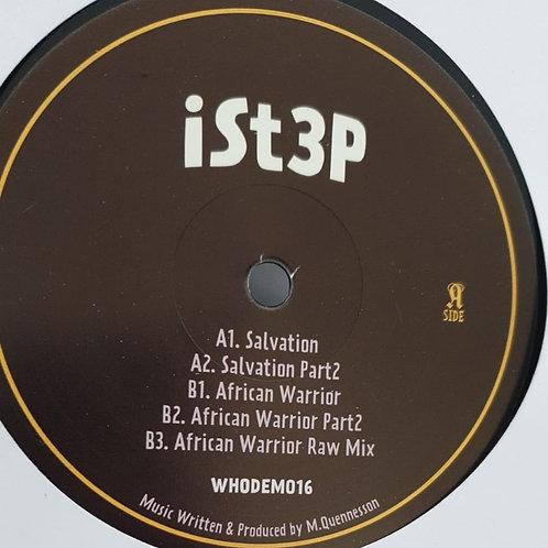 """SALVATION / AFRICAN WARRIOR ISTEP WHODEM 12"""""""