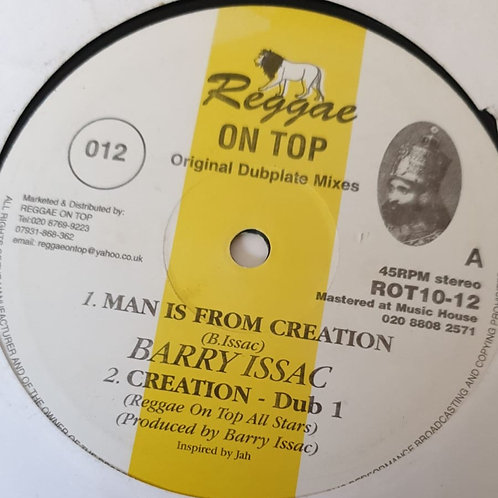 MAN IS FROM CREATION BARRY ISSAC