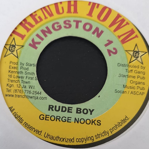 RUDE BOY GEORGE NOOKS