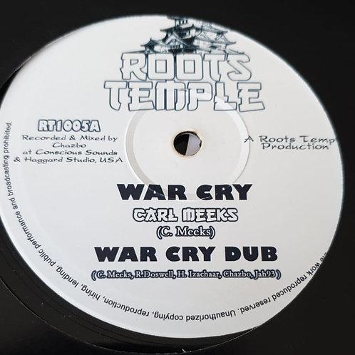 WAR CRY CARL MEEKS