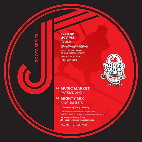 MUSIC MARKET PATRICK ANDY KING JAMMY ROOTS YOUTHS SOUND SERIES 1