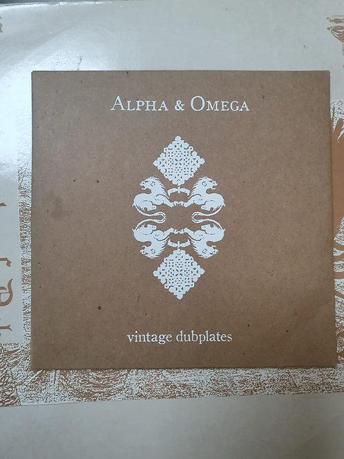 ALPHA AND OMEGA - VINTAGE DUBPLATES