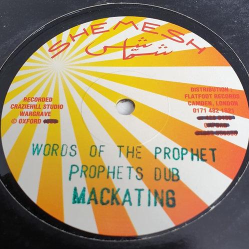 WORDS OF THE PROPHET MACKATING