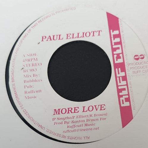 MORE LOVE PAUL ELLIOT