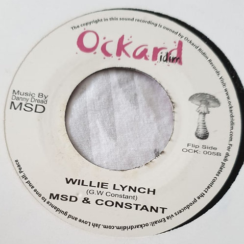 WILLIE LYNCH MSD & CONSTANT