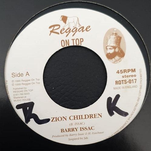 ZION CHILDREN BARRY ISSAC
