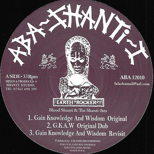 GAIN KNOWLEDGE BLOOD SHANTI 12""