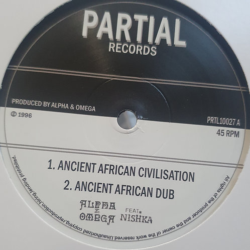 AFRICAN CIVILASTION ALPHA AND OMEGA FEAT NISHKA PARTIAL RECORDS