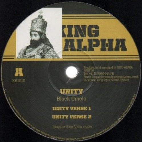 UNITY / SALUTE  BLACK OMOLO KING ALPHA 12""