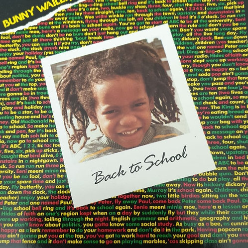 BACK TO SCHOOL BUNNY WAILER