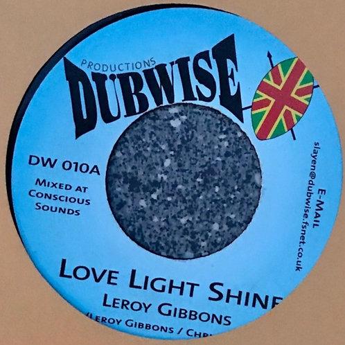 LOVE LIGHT SHINE LERY GIBBONS