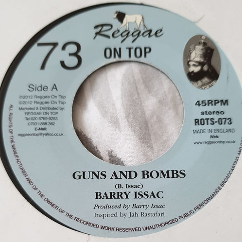 GUNS AND BOMBS BARRY ISAAC