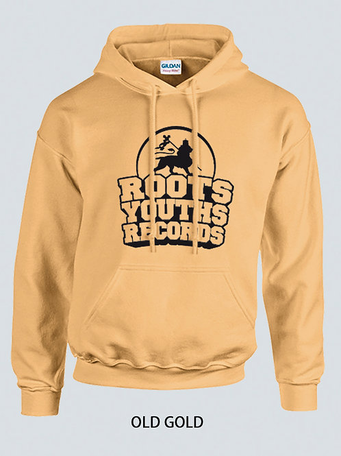 OLD GOLD ROOTS YOUTHS RECORDS HOODY
