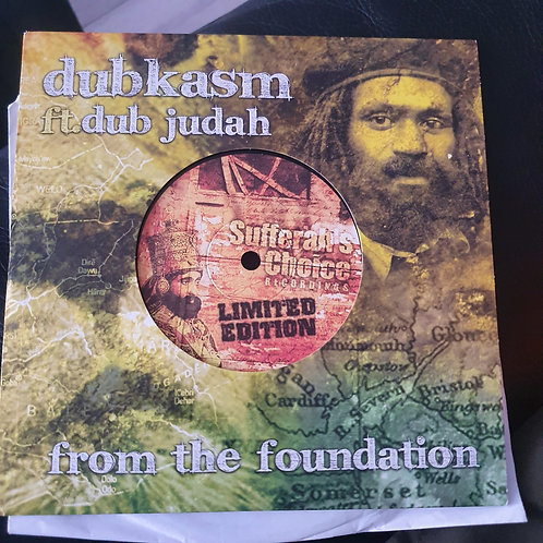 FROM THE FOUNDATION DUB JUDAH DUBKASM LTD EDITION 275/500