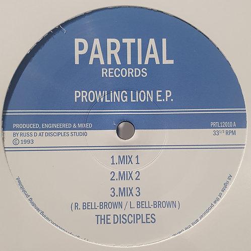 PROWLING LION E.P THE DISCIPLES