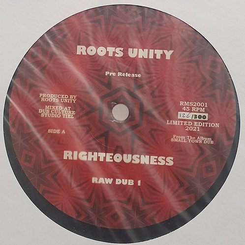 """RIGHTEOUSNESS / REASONING ROOTS UNITY LIMITED EDITION 12"""""""