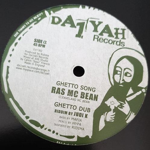GHETTO SONG RAS MC BEAN
