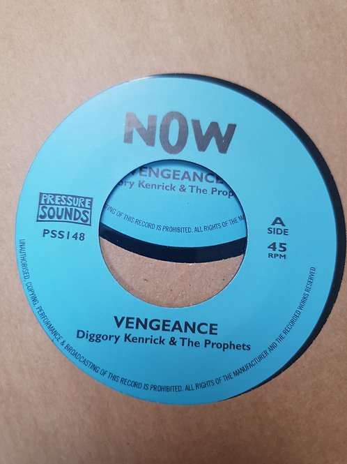 VENGEANCE DIGGORY KENRICK AND THE PROPHETS PRESSURE SOUNDS 7""