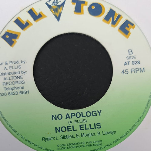 NO APOLOGY NOEL ELLIS