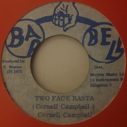 "TWO FACE RASTA CORNELL CAMPBELL ORIGINAL BARBELL  7"""