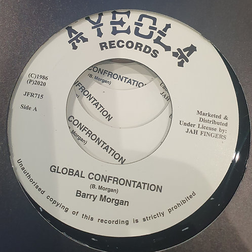 GLOBAL CONFRONTATION BARRY MORGAN