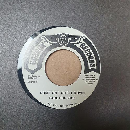 SOME ONE CUT IT DOWN PAUL HURLOCK GORGON RECORDS