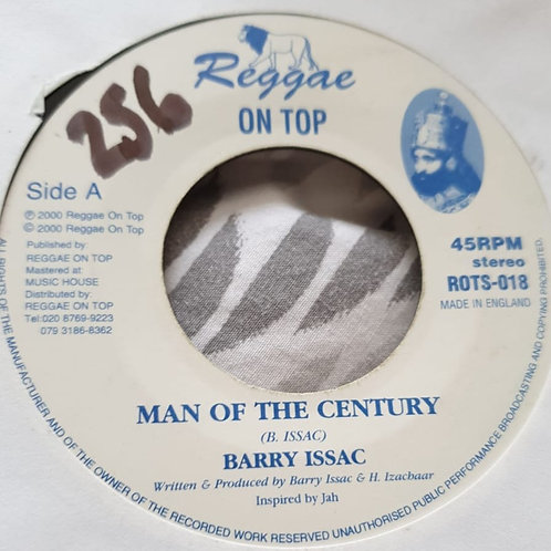 MAN OF THE CENTURY BARRY ISAAC