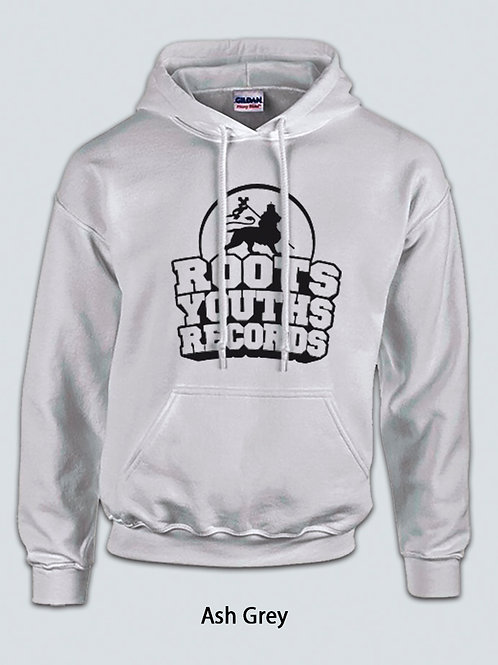 ASH GREY ROOTS YOUTHS RECORDS HOODY