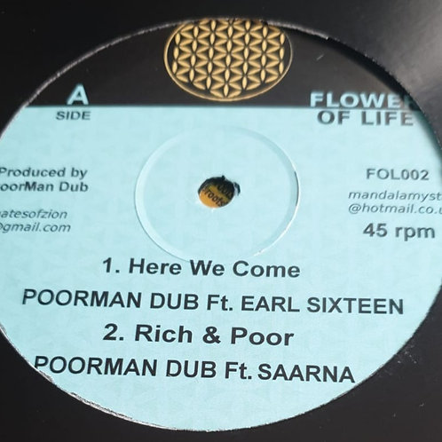 HERE WE COME POORMAN DUB FT EARL SIXTEEN