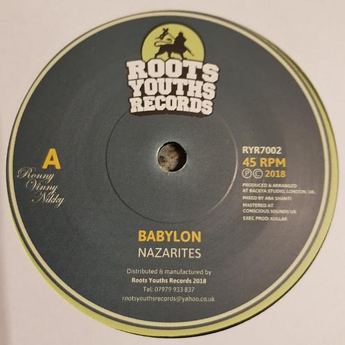 NAZARITES - BABYLON