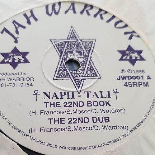 """22ND BOOK NAPHTALI JAH WARRIOR ORIG 12"""""""