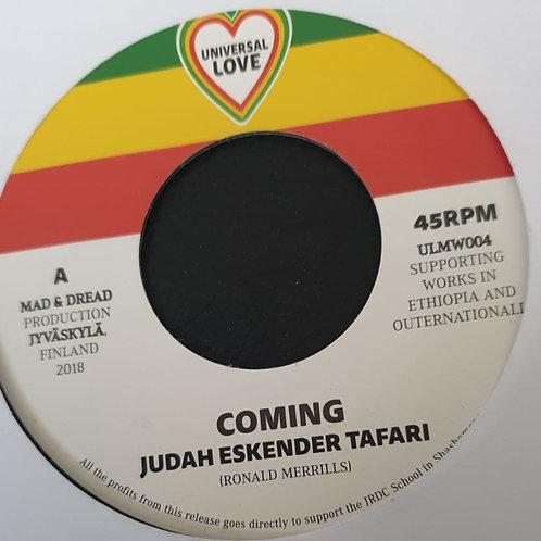 COMING JUDAH ESKENDER TAFARI