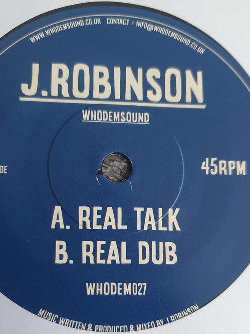 REAL TALK J ROBINSON