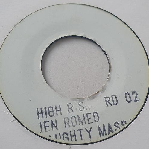 "HIGH RISK JENNIFER ROMEO BLANK LABEL 7"""