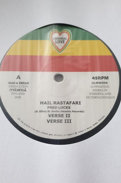 HAIL RASTAFARI FRED LOCKS UNIVERSAL LOVE ASHANTI SELAH MUSIC