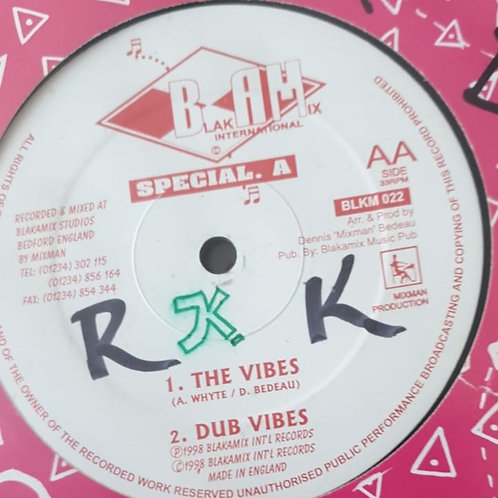 THE VIBES / SO BLIND SPECIAL A MIXMAN BLAKAMIX 12""