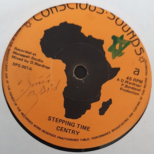 STEPPING TIME CENTRY CONSCIOUS SOUNDS ORIG 7""